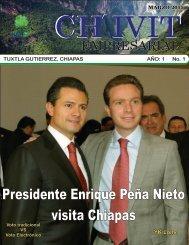 Revista Ch´ivit Empresarial marzo 2015