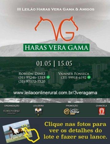 III Leilão Vera Gama e Amigos