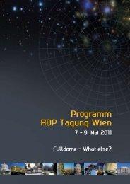 Beiträge am Montag, 9. Mai 2011 - Planetarium Wien