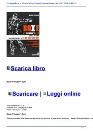 {Va bene} Boxe at Gleason\'s Gym Ebook Download Gratis Libri (PDF, EPUB, KINDLE)