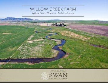Willow Creek Farm Offering Brochure 5-9-18