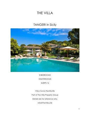 Tangeri - Sicily