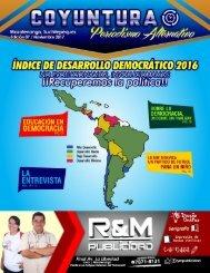 7ma edición Revista Coyuntura Noviembre 2017