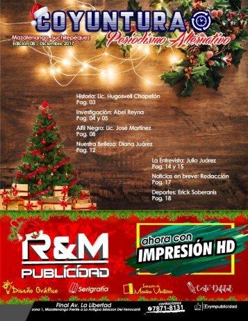 8va edición Revista Coyuntura diciembre2017