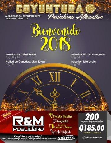 9na edición Revista Coyuntura enero 2018.