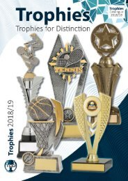 2018 Trophies for Distinction