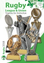 2018 Rugby Trophies for Distinction