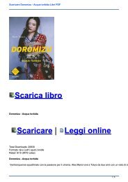 Scaricare Doromizu - Acqua torbida Libri PDF