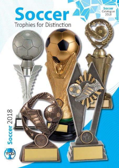 2018 Soccer Trophies for Distinction