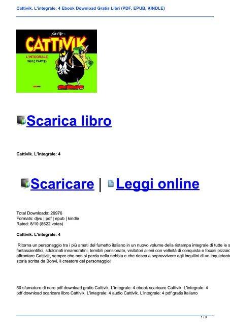 Libri Epub Gratis Italiano