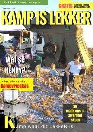 Kamp is LekkerTydskrif-Maart 2018