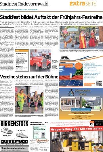 Stadtfest Radevormwald  -10.05.2018-
