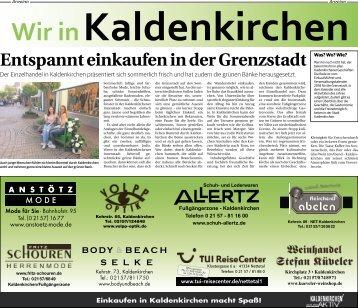 Wir in Kaldenkirchen  -10.05.2018-
