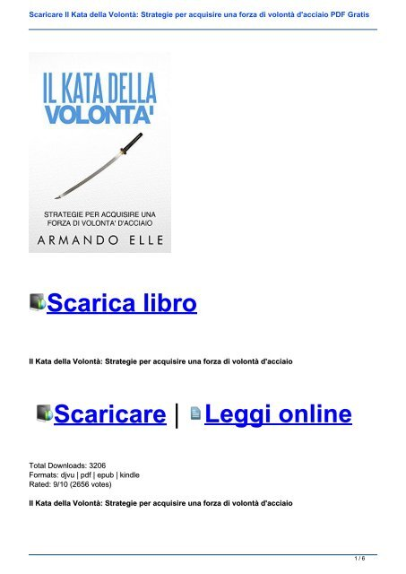 Libro pdf acciaio