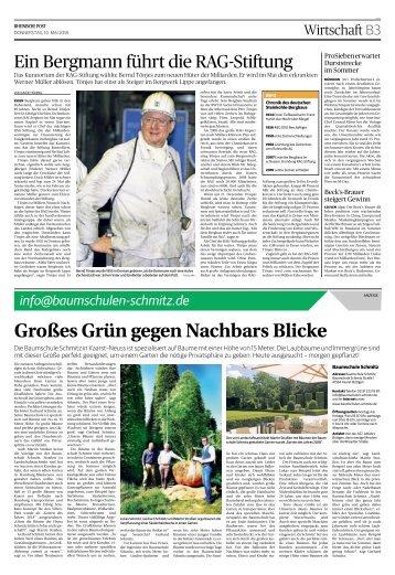 Baumschulen Schmitz  -10.05.2018-