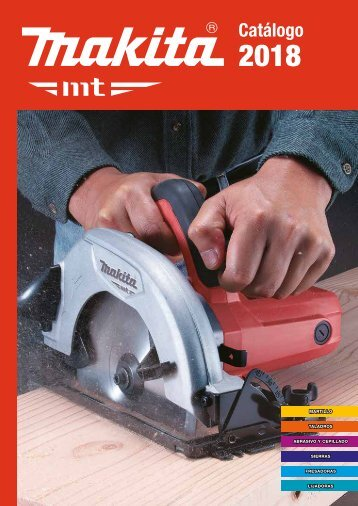 Catalogo Makita MT 2018