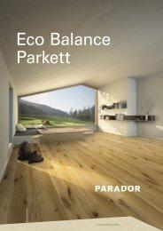 Parador Eco Balance Parkett 2018