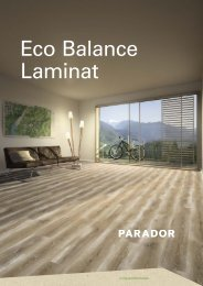 Parador Eco Balance Laminat 2018