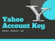 Secure Yahoo Account With Yahoo Account Key - Updated | You Must See!!!