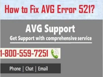Call 1-800-559-7251 to Fix AVG Error 521