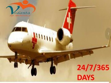 Vedanta Air Ambulance from Jamshedpur to Delhi with Medical Team