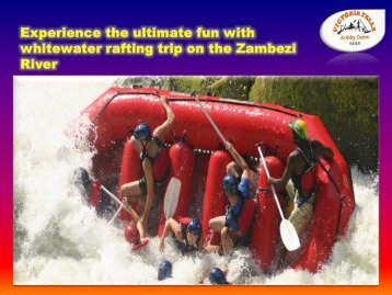 Experience the ultimate fun with whitewater rafting trip on the Zambezi River (1)