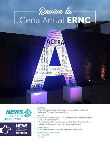 Newsletter ACERA - Abril 2018