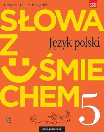Słowa z uśmiechem - literatura i kultura klasa 5