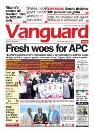 10052018 - Fresh Woes for APC