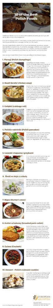 10 of the Best Polish Foods