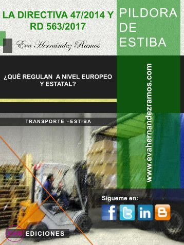 Píldora sobre estiba. Directiva 47.2014_Eva Hernandez Ramos