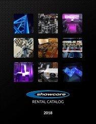 Showcore Rental Catalog 2018