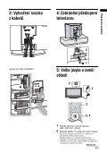 Sony KDL-32U2000 - KDL-32U2000 Mode d'emploi Tchèque - Page 5