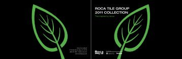 ROCA TILE GROUP 2011 COLLECTION