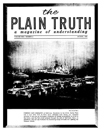 The Plain Truth - Revelations Of The Bible