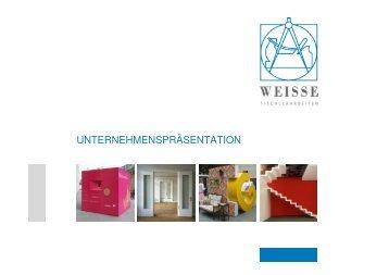 Unternehmenspräsentation als PDF herunterladen - Weisse GmbH ...