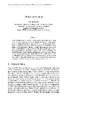Chaos in Cosmos 1 Introduction - Institut für Theoretische Physik ...