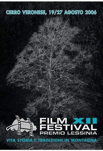 Film Festival 2006 Libretto - Film Festival della Lessinia