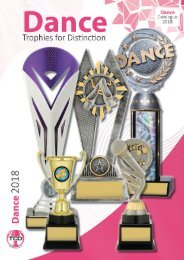 2018 Dance Trophies for Distinction