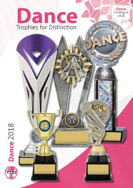 2018 Dance Trophies for Distinction