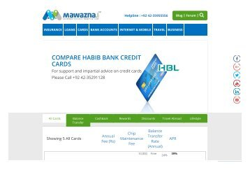 hbl platinum credit card