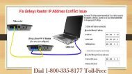 1-800-335-8177 Fix Linksys Router IP Address Conflict Issue