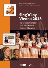 Vienna 2018 - Program Book
