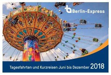 Tagesfahrten Berlin Express 2018