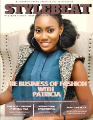 STYLEBEAT MAGAZINE NIGERIA MAY 2018