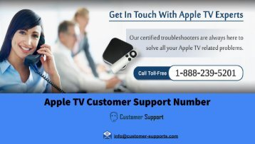 Apple TV Customer Support Number