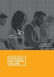 Catálogo de cursos 2019 - Grupo Euroformac