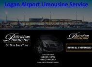 logan airport limousine service