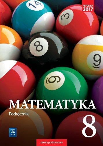 Matematyka klasa 8 podręcznik