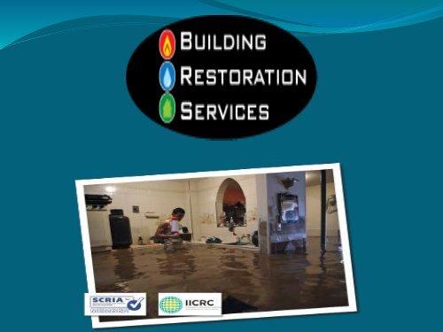 Building Restoration Services
